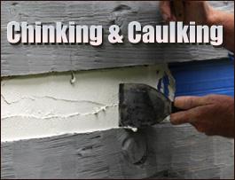 Chinking And Caulking  Breathitt County, Kentucky