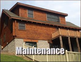 Log Home Maintenance  Breathitt County, Kentucky