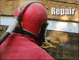 Log Home Repair  Breathitt County, Kentucky