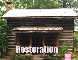 Log Cabin Restoration  Breathitt County, Kentucky