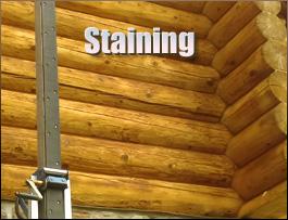 Log Home Staining  Breathitt County, Kentucky